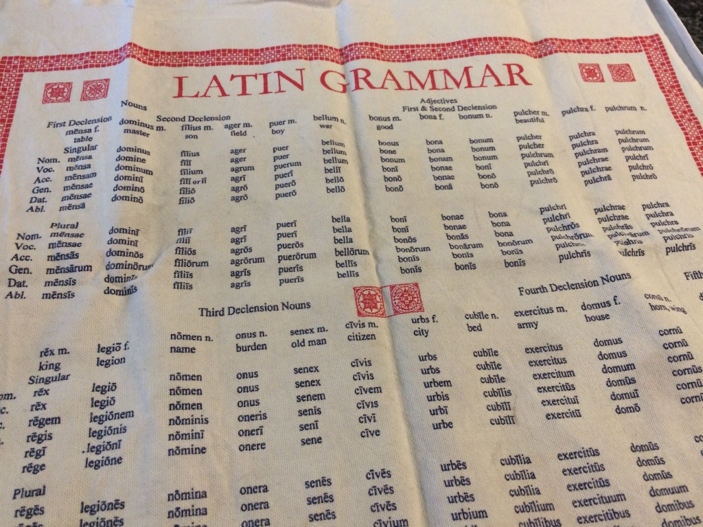 The geekiest tea towel in existence